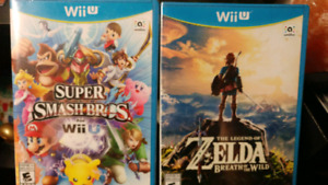 Sealed Wii U Games