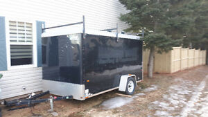 2007 wells cargo enclosed 6 by 12 trailer