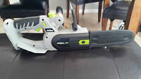 18 volt Earth Wise battery powered chainsaw $80