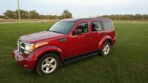 2007 Dodge Nitro SUV, safetied & etested, trade for 4x4 Truck