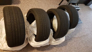 LEXUS IS250F 2 Rear Tires TURANZA EL400 02