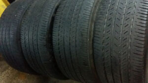 AllSEASON / SUMMER TIRES  225/55/18