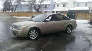 SAFETY, ETEST AND CARPROOF  Ford Five Hundred V6  AWD Sedan
