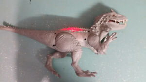 "22"" Jurassic World INDOMINUS REX Electronic Toy Figure (rare)"