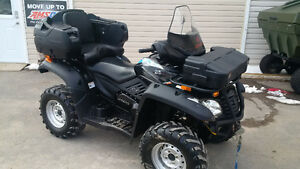 **$29 per WEEK**  GREAT USED ATV!  500cc 4x4,  2-UP,  LOW MILES!