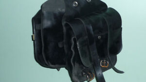 WILLIE AND MAX MOTORCYCLE SADDLEBAGS
