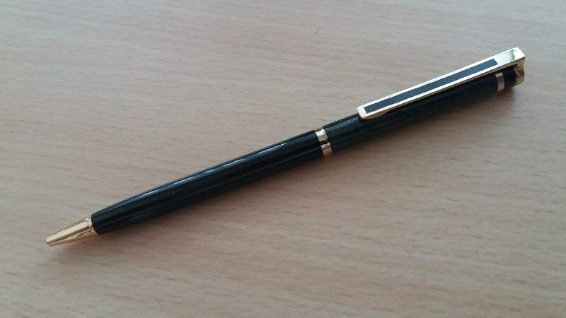 Slim & Elegant Genuine COLIBRI USA Ballpoint Pen - BEAUTIFUL & MINT
