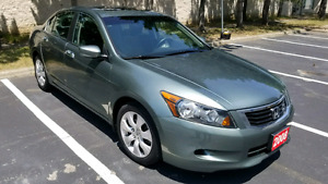 2008 HONDA ACCORD EX V6, 1 OWNER, NO ACCIDENT, MUST BE SEEN