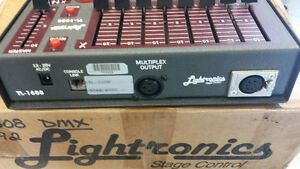LIghtronics TL 1608 16ch Light Board with both protocals