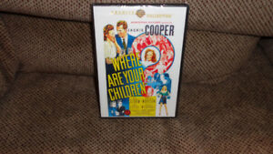 SEALED DVD JACKIE COOPER IN WHERE ARE YOUR CHILDREN GALE STORM