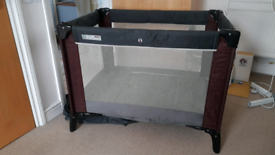 Mamas And Papas Travel Cot + Mattress £10
