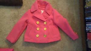 Cute pink fall/spring coat for girls 3T