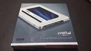 SSD CRUCIAL MX300 1TB 2.5 INCH SATA LAPTOP BRAND NEW SCEALED