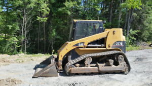 2002 Cat 277B Skid Steer
