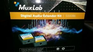 MUXLAB DIGITAL AUDIO EXTENDER KIT 500086