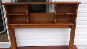 Solid Wood Double bed Frame $100