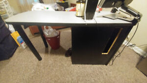 Computer table zero issues