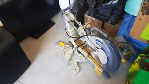 Mastercraft MAXIMUM sliding dual bevel mitre saw