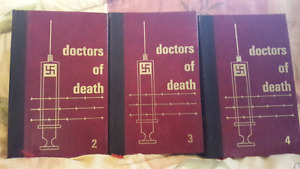 Doctors of Death - Vol's 2, 3 & 4 - Excellent Condition, Rare