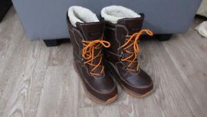Warm winter boots, Mens - Waterproof - Exc Condition, Sz 9.5