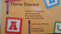 Home daycare north end of trenton