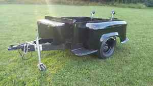 1955 Chevrolet box restored  use as Trailer or as box