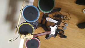 Ps3 bundle/games/rockband 2 full kit
