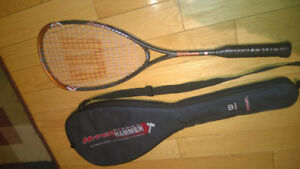 Wilson and Dunlop Squash Racquets