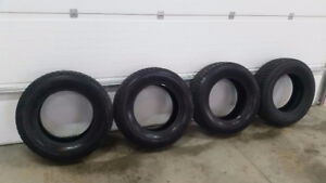 4 *LIKE NEW* WINTER SNOW AND ICE TRUCK/SUV TIRES
