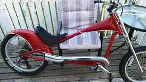 Trade my rare custom giant stiletto chopper bicycle
