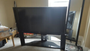 """Hitachi 55VG825 55"""" TV with Stand perfect condition $150 OBO"""