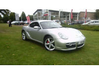 2008 Porsche Cayman S 3.4 auto Tiptronic S, Silver, FSH, 1 Owner, Immaculate