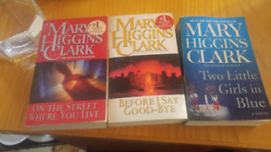 Mary Higgins Clark Books