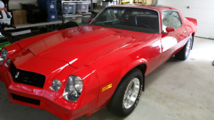 1979 Chevrolet camaro 4 speed