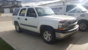 2005 Chevrolet Tahoe LT Leather 8 Seater SUV  $8650 163,000kms