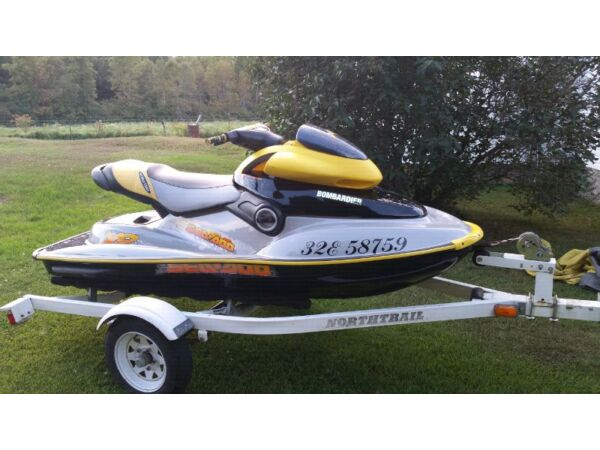 Used 2002 Bombardier SeaDoo XP 951