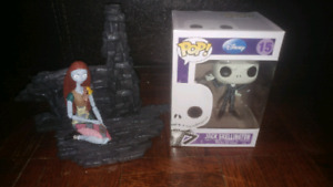 Nightmare before Christmas Jack Pop Figure and Sally