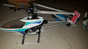 Gas powered heli with R/C