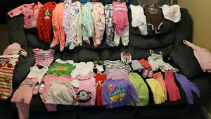 Huge lot of 12 month girl clothes