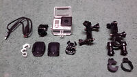 GoPro HD 3+ Silver and Mount