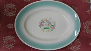 Vintage susie cooper England Dresden oval plate