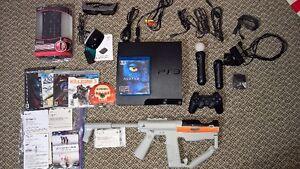 Sony PlayStation 3 (PS3) avec PS Move et accessoires