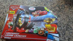 Disney Pixar cars, Lightspeed loopin launcher, DJC57