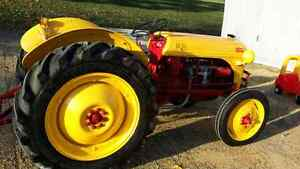 1950 completely restored 8n Ford tractor