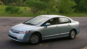 honda civic 2006,hybrid,automatiq,230k,full option,tt élect,AC