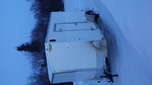 6 1/2 × 12 enclosed trailer