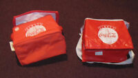 REDUCED - 2 Coca-Cola lunch bag coolers - NEW