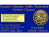 Quran class with Tajweed one to one and online Quran tuition Tutor