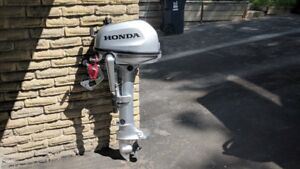 Honda outboard 4Hp - brand new with waranty