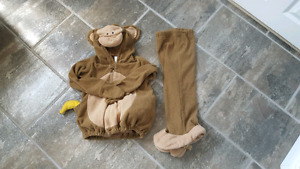 Old navy 4T -5T monkey costume $10 smoke free home
